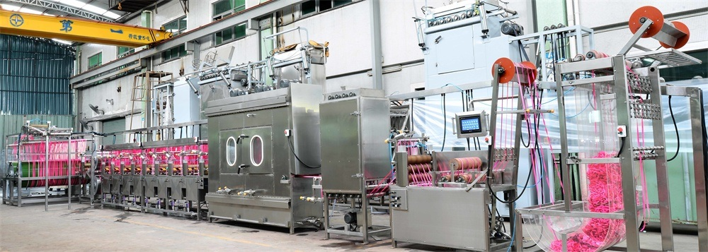 Competitive Price for Polyester Bag Belts Starching And Finishing Machine - Upgraded Nylon Elastic Tapes/Elastic Straps Continuous Dyeing&Finishing Machine – Kin Wah