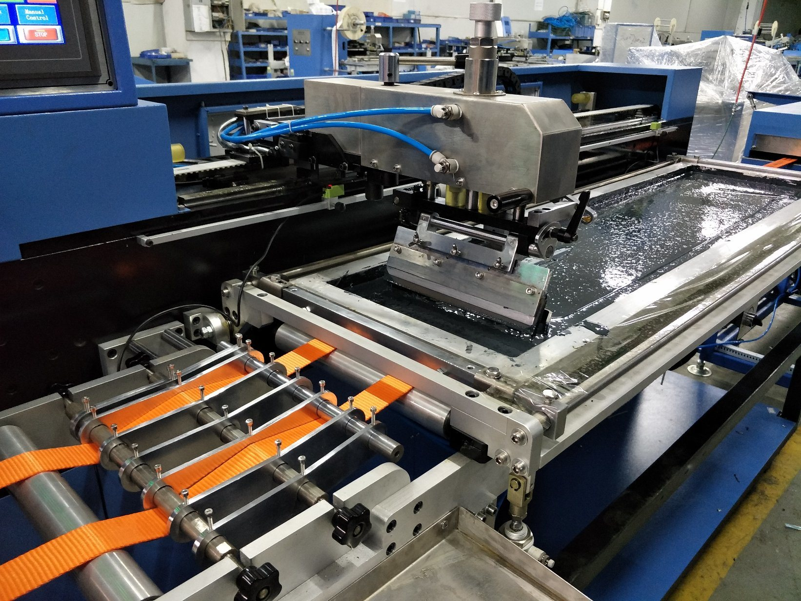 OEM manufacturer Content Labels Calender Machine - Heavy Duty Webbings Screen Printing Machine with High Precision – Kin Wah