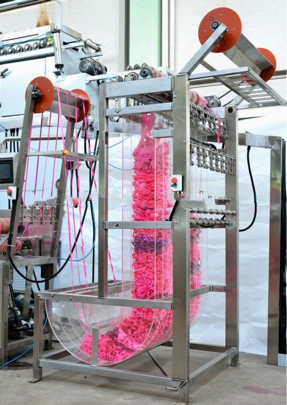 Best quality Festooning Machine - Nylon Elastic Tapes Continuous Dyeing&Finishing Machine with Normal Temp – Kin Wah