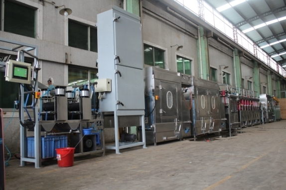 600mm Pets Webbings Continuous Dyeing Machine Kw-800-Cw600