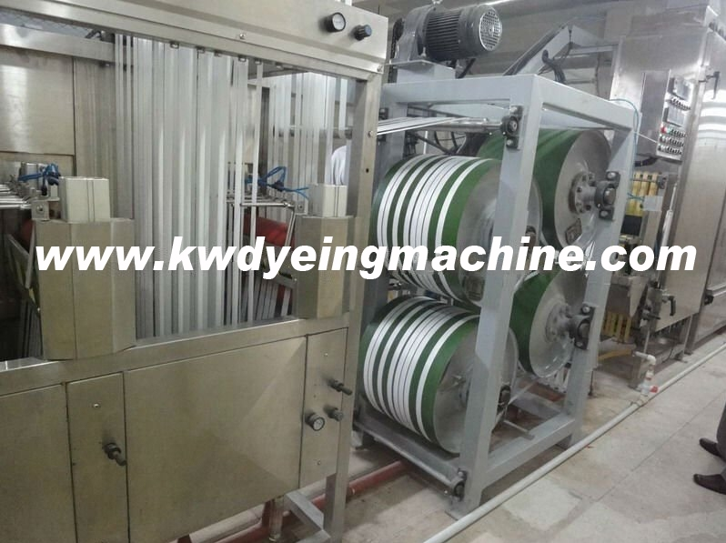 factory customized Nylon Shoulder Tapes Dyeing Machine - Narrow Fabric Continuous Dyeing&Finishing Machine with Large Capacity – Kin Wah