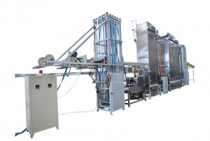 China manufacturer lashing straps dyeing and finishing machine