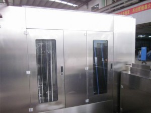 Automatic elastic tapes/laces silicone coating machine KW-200