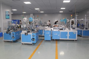 Nonwoven Mask Making Machine for ear loop welding