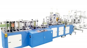 Full Automatic High SPeed Kn95 Face Mask Machine with 120PCS per Min