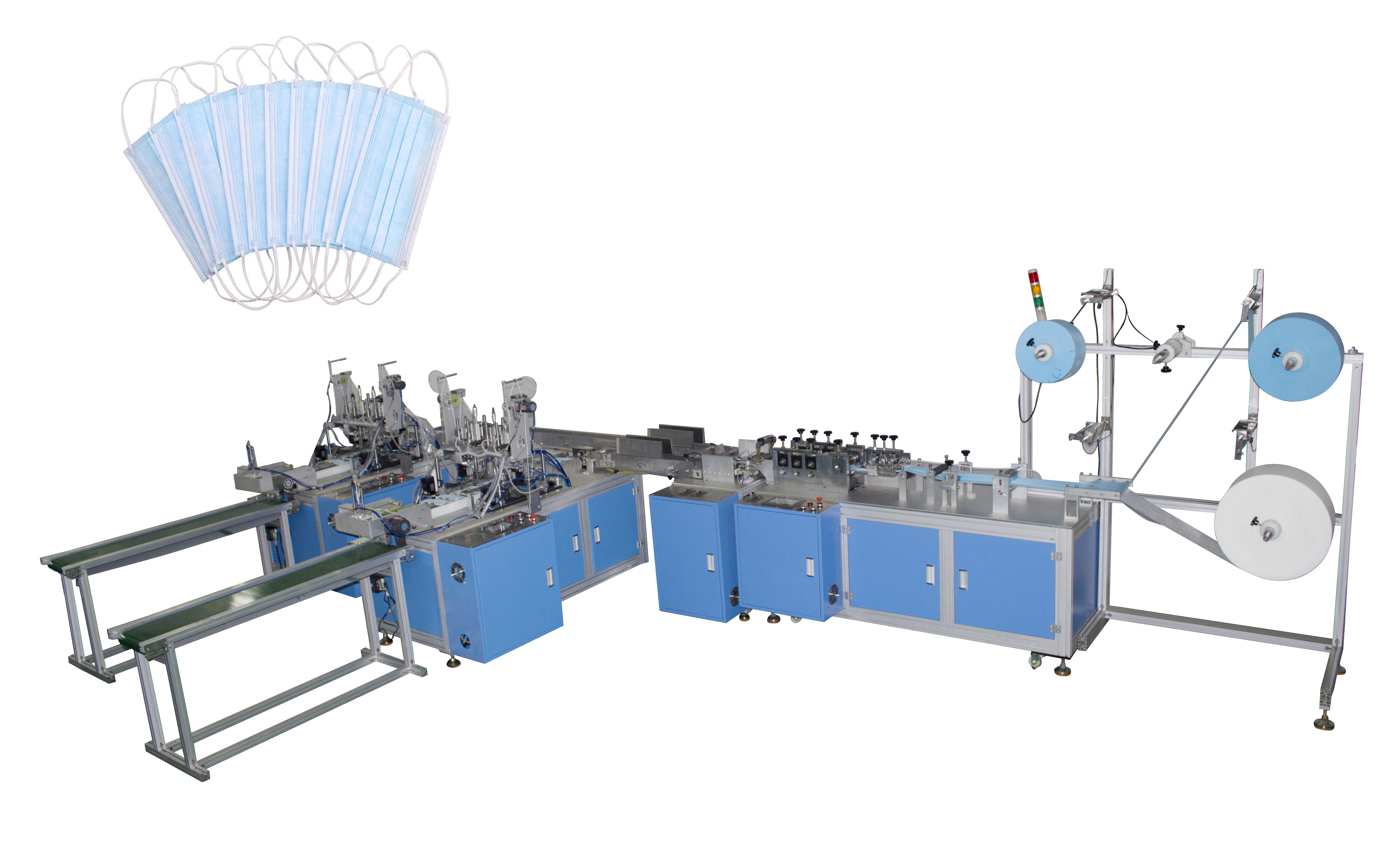 Nonwoven Mask Making Machine for ear loop welding Featured Image
