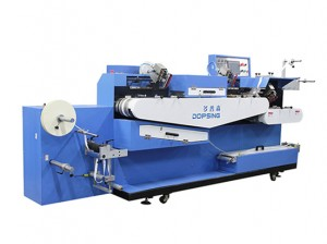 Double kilid gapas tape screen sa pag-imprenta machine supplier