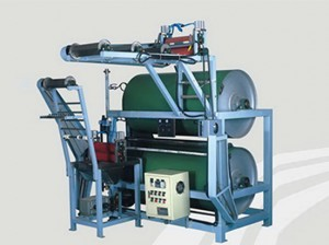 2 cylinders elastic tapes starching and finishing machine