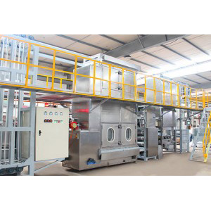 High efficient heavy duty webbings continuous dyeing machine with CE Cetification